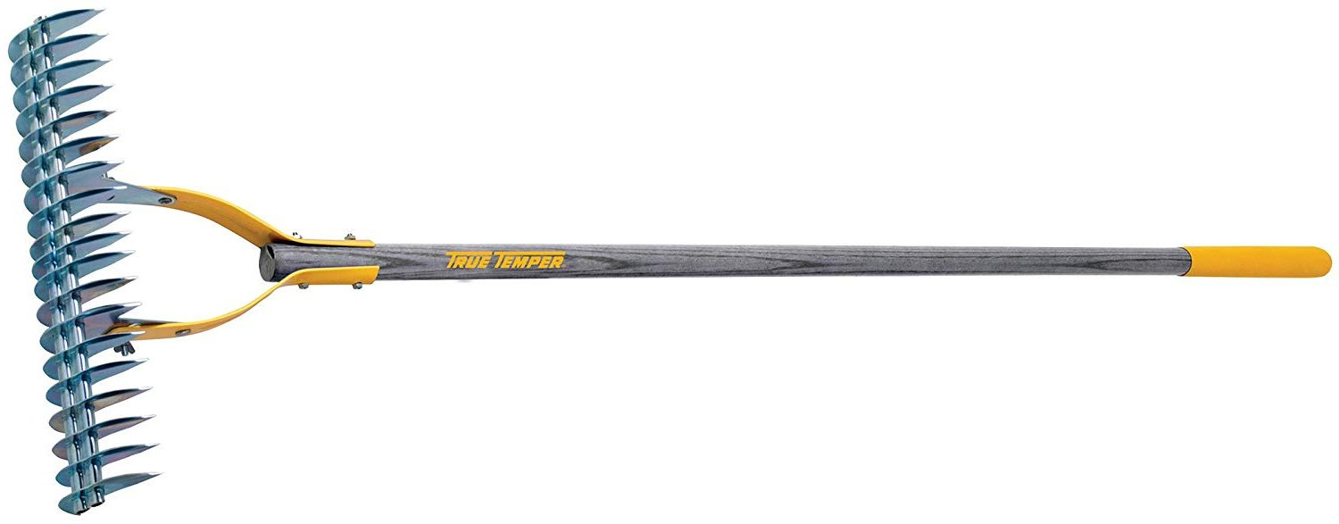 True Temper 2914000 Adjustable Thatching Rake