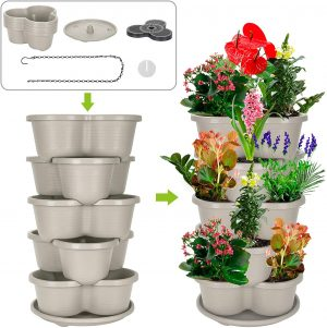 Amazing Creation Stackable Pots for Strawberries