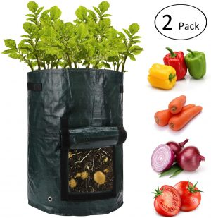 ANPHSIN 10 Gallon Pots for Tomatoes