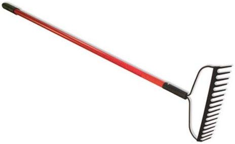 Bully Tools 12-Gauge Bow Rake rocks