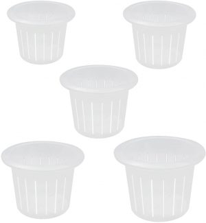 Coisound 1688 Orchid Breathable Slotted Clear Plastic Pot