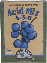Down To Earth All Natural Acid Mix Fertilizer for Blueberries