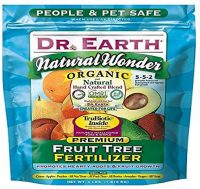 Dr. Earth 708P Organic 9 Fruit Tree Fertilizer for Blueberries