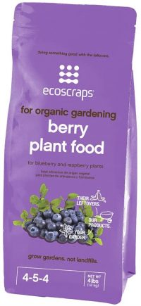 EcoScraps for Organic Gardening Berry Plant Food