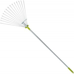 Gardenite Adjustable Garden Leaf Rake for rocks