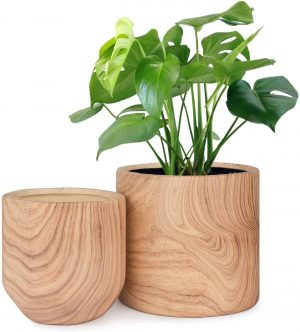 HOMENOTE Ceramic Pots for Indoor Plants
