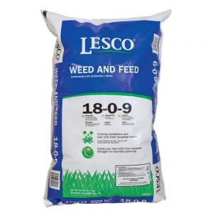 Lesco Weed & Feed Turf Fertilizer for Bermuda Grass