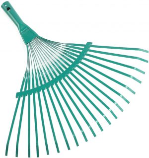ORIENTOOLS Steel Leaf Rake for rocks Head