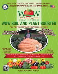 Wallace Organic Wonder, Soil and Plant Booster