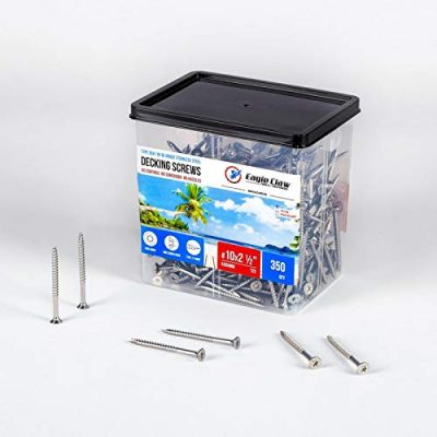 Eagle Claws Tools and Fasteners Stainless Steel Deck Screws